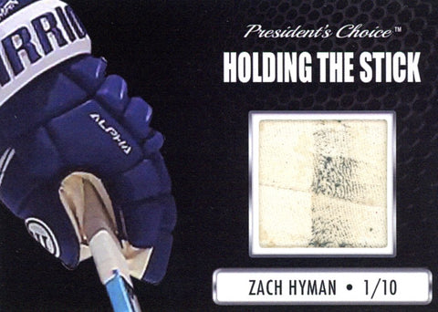 Zach Hyman Holding the Stick /10