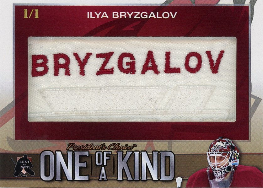 Ilya Bryzgalov One of a Kind 1/1