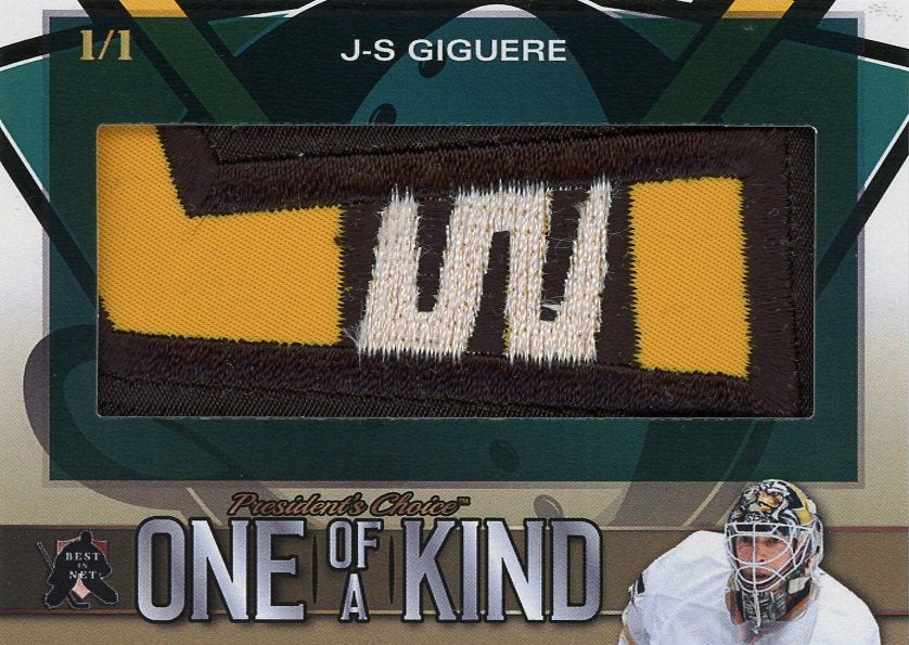 J-S Giguere One of a Kind 1/1