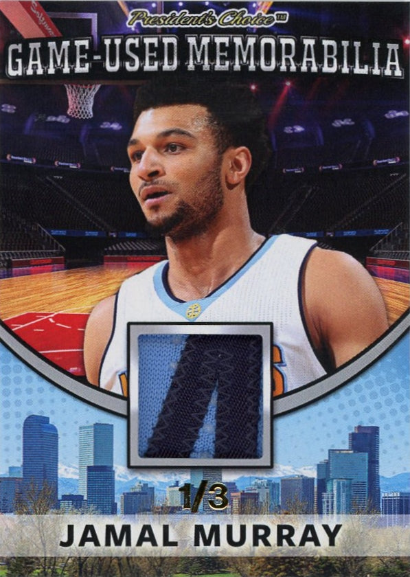 Jamal Murray Game-Used Memorabilia /3