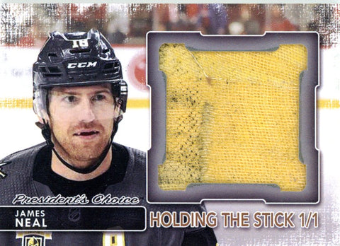 James Neal Holding the Stick 1/1