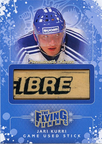 Jari Kurri Game-Used Stick /3