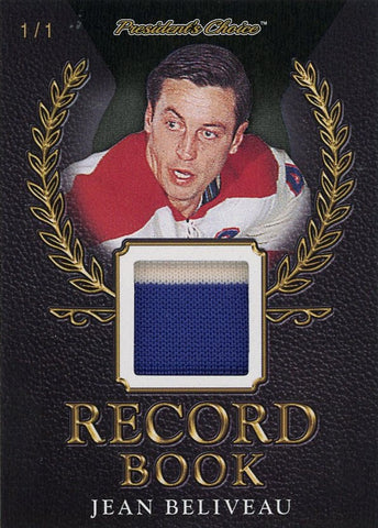 Jean Beliveau Record Book 1/1