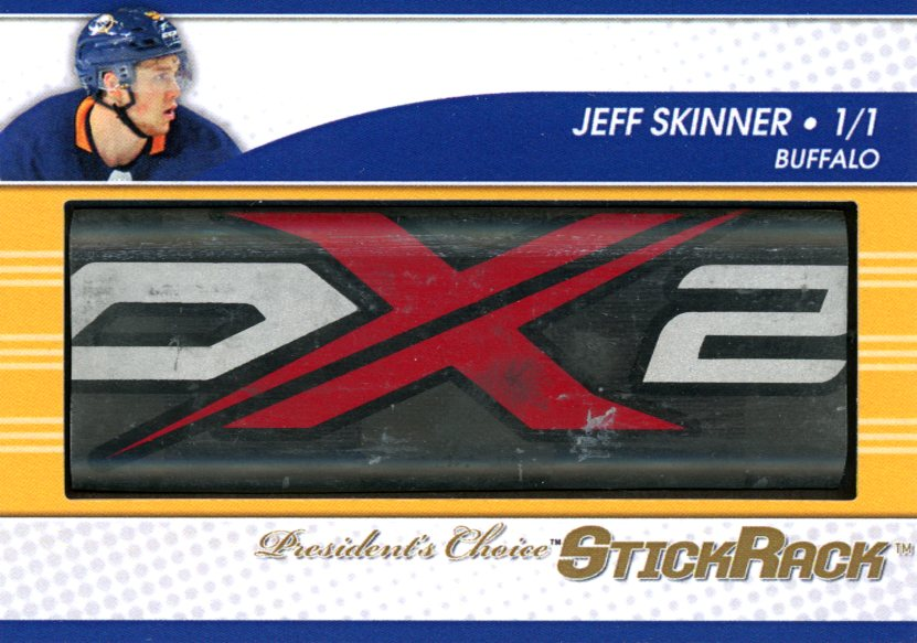 Jeff Skinner StickRack 1/1