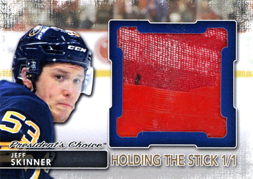 Jeff Skinner Holding the Stick 1/1