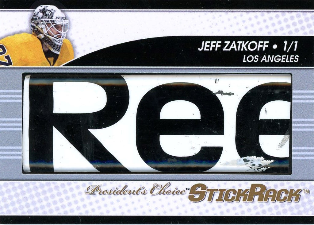Jeff Zatkoff StickRack 1/1