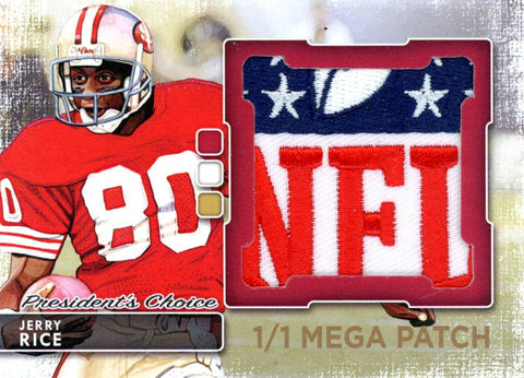 Jerry Rice MegaPatch 1/1