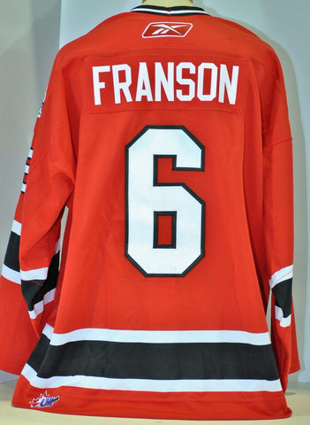 Cody Franson 2006 Canada/Russia Challenge Authentic Game Used Jersey