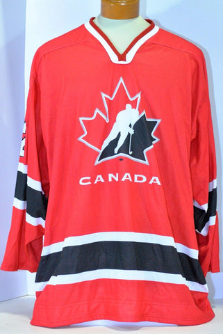 Shawn Matthias 2006 Team Canada IIHF World U-18 Championship Game Used Jersey