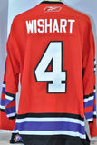 Ty Wishart 2006 Top Prospects Authentic Game Used Jersey