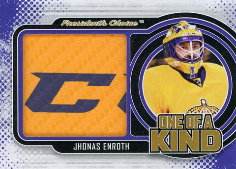 Jhonas Enroth One of A Kind 1/1