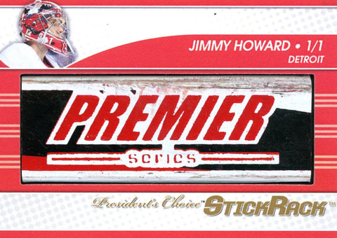 Jimmy Howard StickRack 1/1