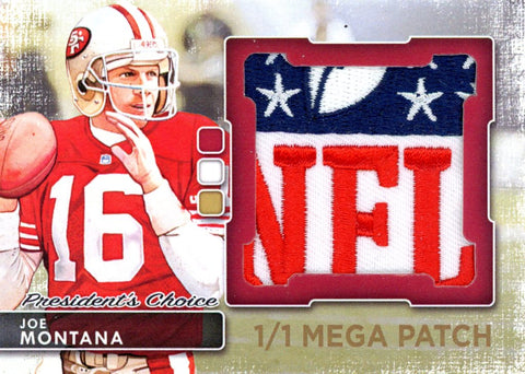 Joe Montana MegaPatch 1/1