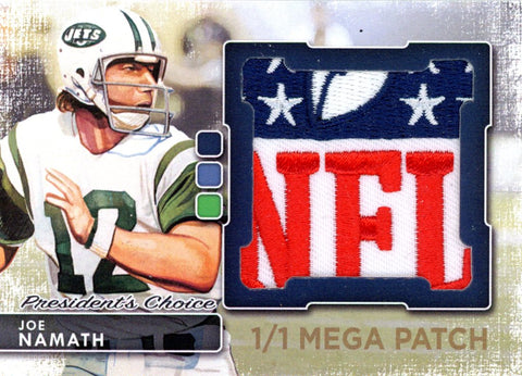 Joe Namath MegaPatch 1/1