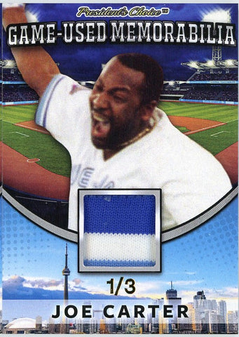 Joe Carter Game-Used Memorabilia /3