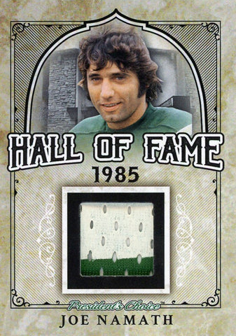 Joe Namath Hall of Fame 1/1