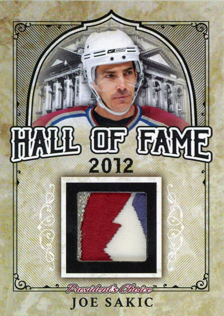 Joe Sakic Hall of Fame 1/1