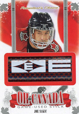Joe Sakic Game-Used Stick /3