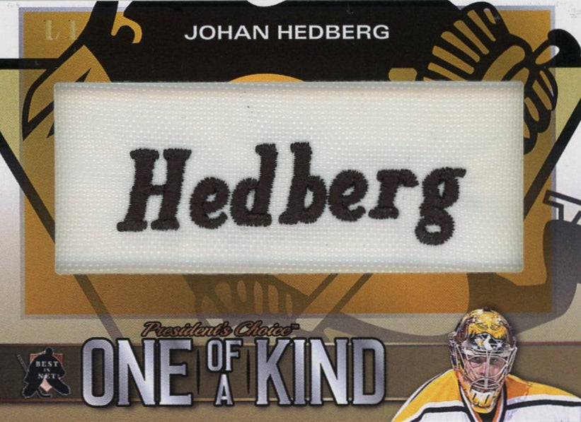 Johan Hedberg One of a Kind 1/1