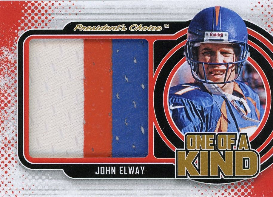 John Elway One of A Kind 1/1
