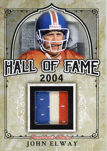 John Elway Hall of Fame 1/1