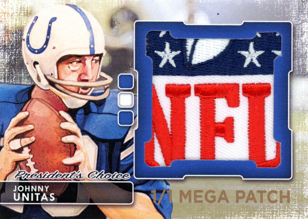 Johnny Unitas MegaPatch 1/1