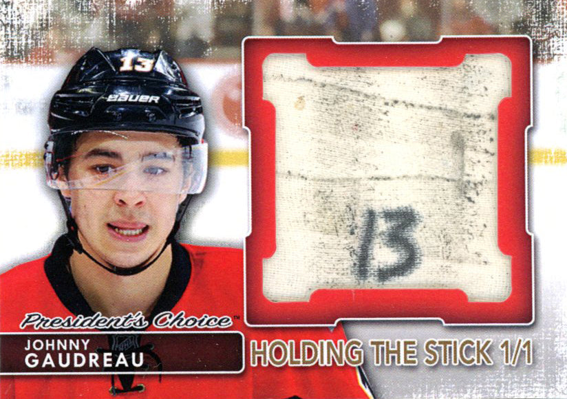 Johnny Gaudreau Holding the Stick 1/1