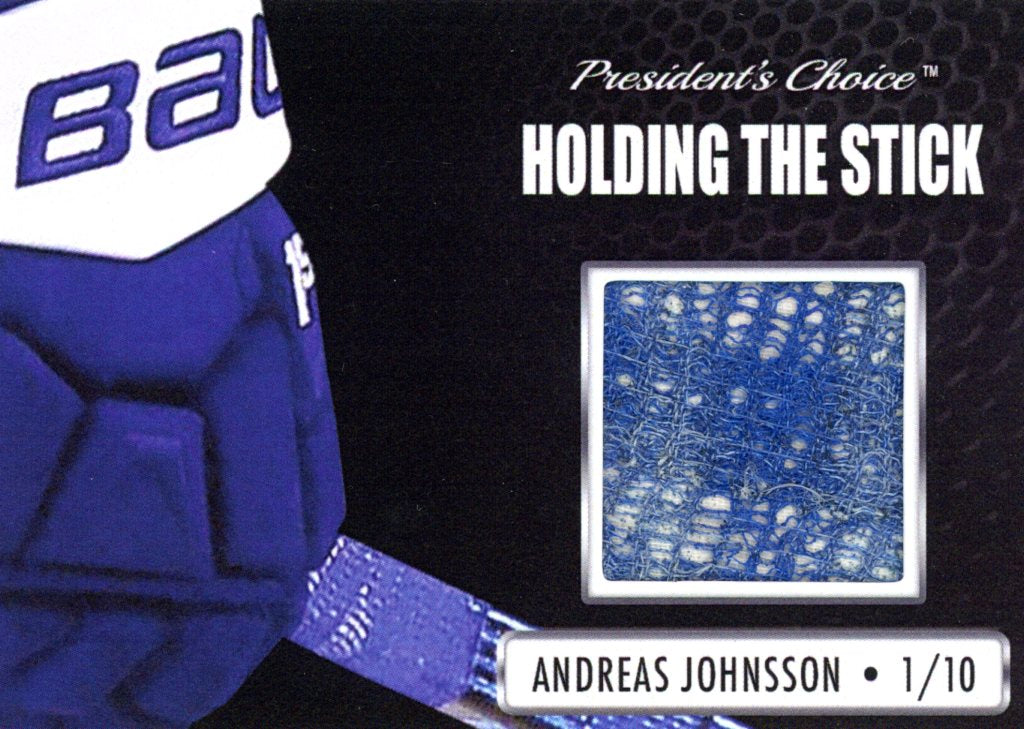 Andreas Johnsson Holding the Stick /10