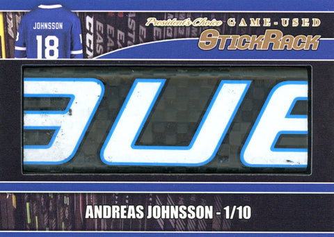 Andreas Johnsson StickRack /10