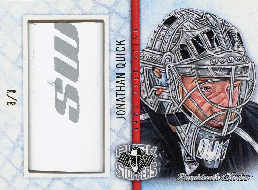 Jonathan Quick PuckStoppers /3