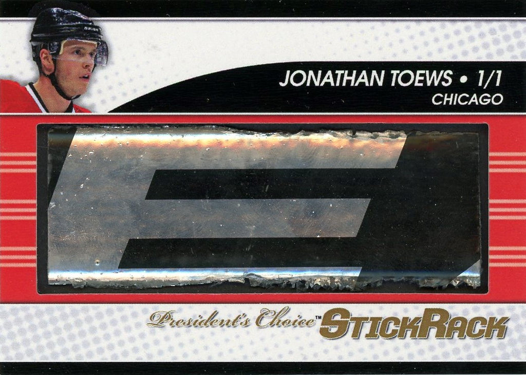 Jonathan Toews StickRack 1/1