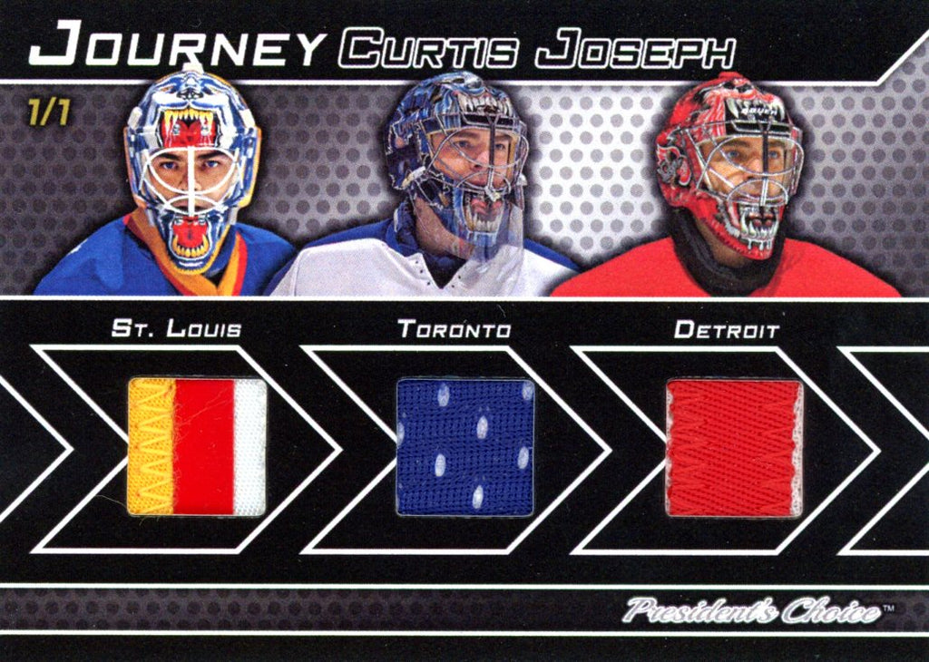 Curtis Joseph 1/1 Journey