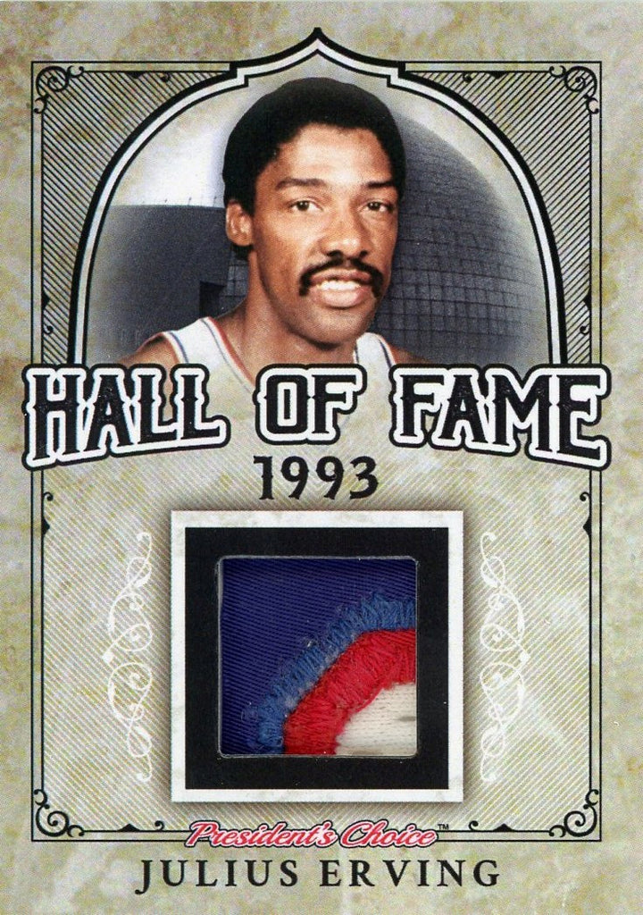 Julius Erving Hall of Fame 1/1