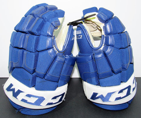 Nazim Kadri Game-Used Gloves