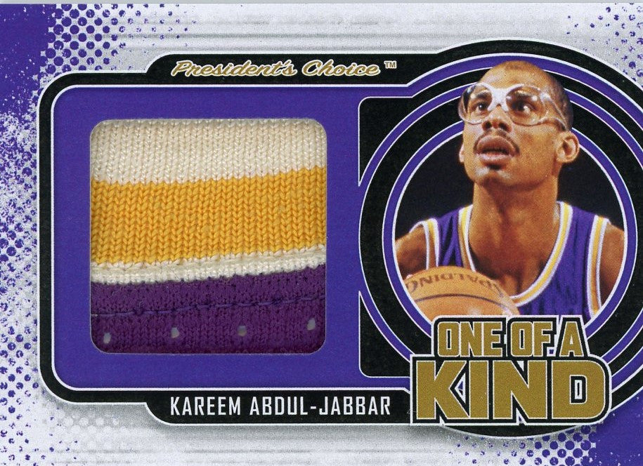 Kareem Abdul-Jabbar One of A Kind 1/1