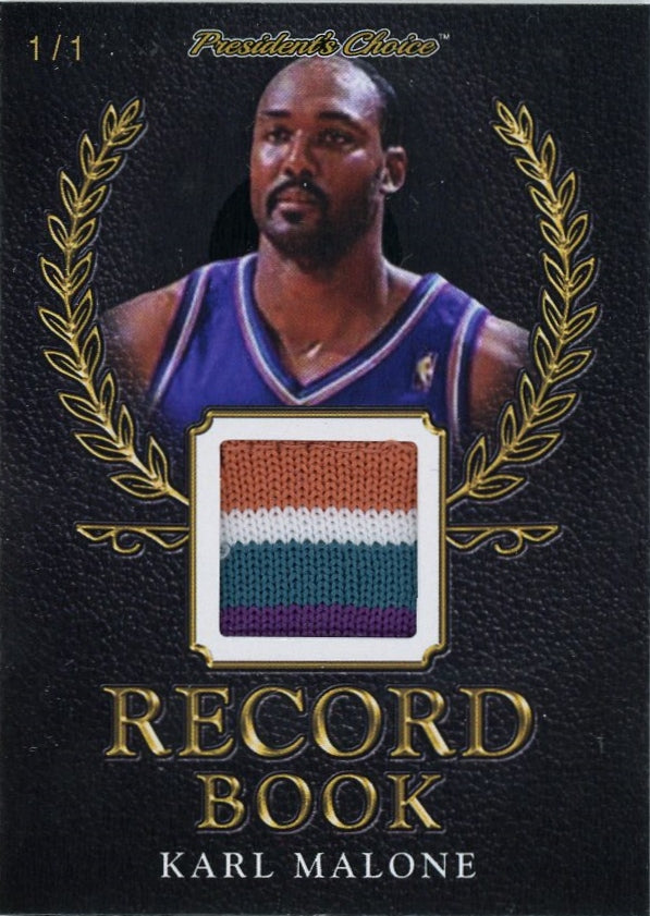 Karl Malone Record Book 1/1