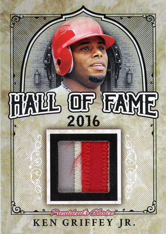 Ken Griffey Jr. Hall of Fame 1/1
