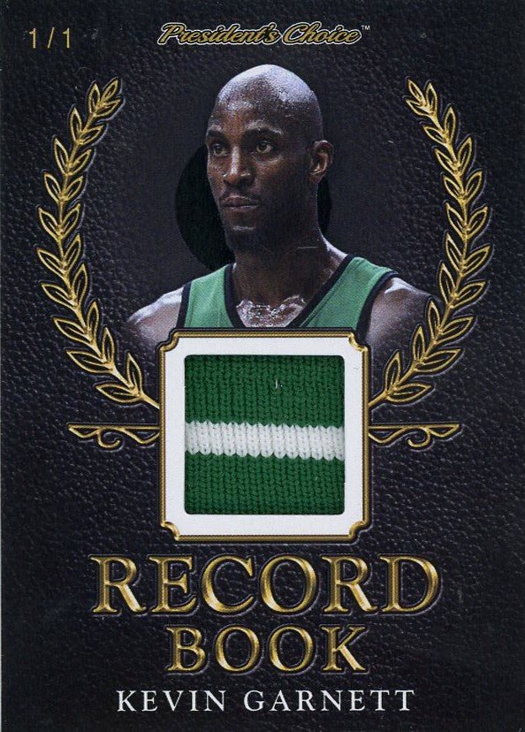 Kevin Garnett Record Book 1/1