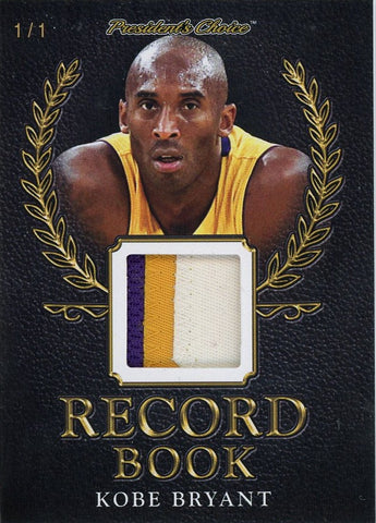 Kobe Bryant Record Book 1/1