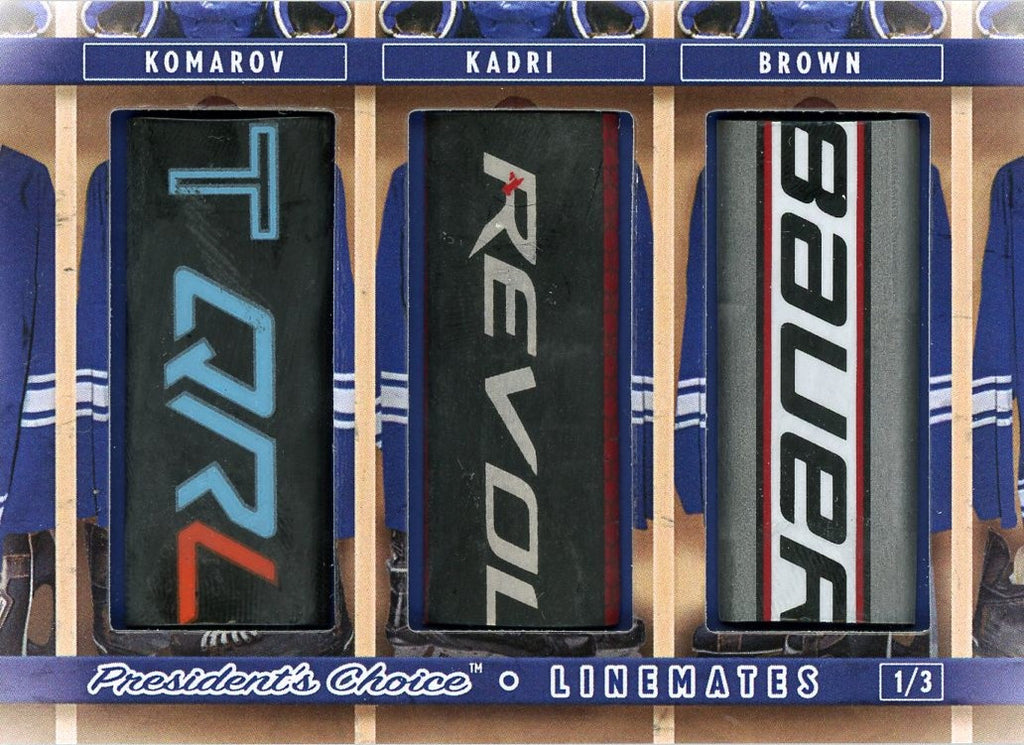 Komarov, Kadri, Brown LineMates /3
