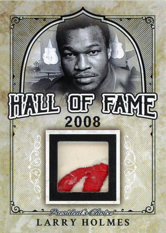 Larry Holmes Hall of Fame 1/1