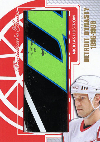 Nicklas Lidstrom Detroit Dynasty StickRack 1/1