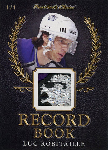 Luc Robitaille Record Book 1/1