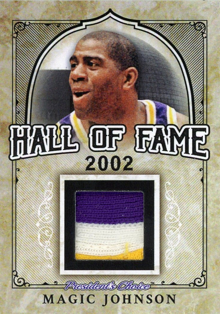 Magic Johnson Hall of Fame 1/1