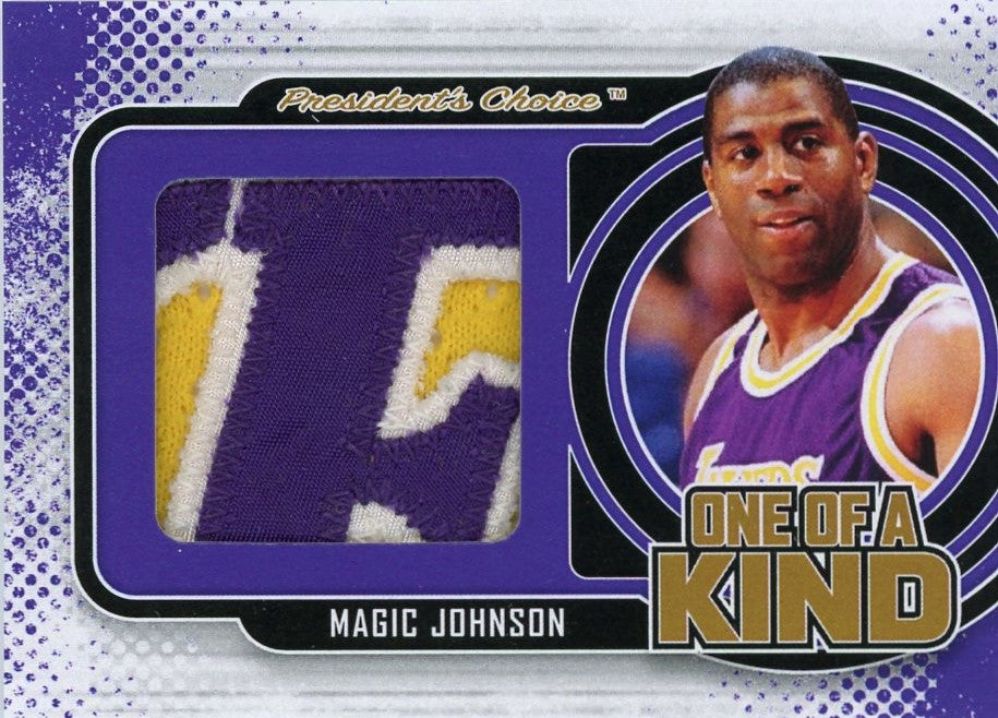 Magic Johnson One of A Kind 1/1