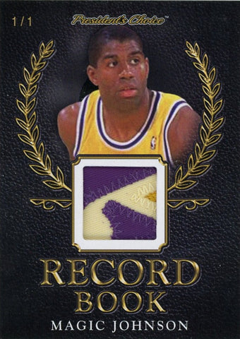 Magic Johnson Record Book 1/1