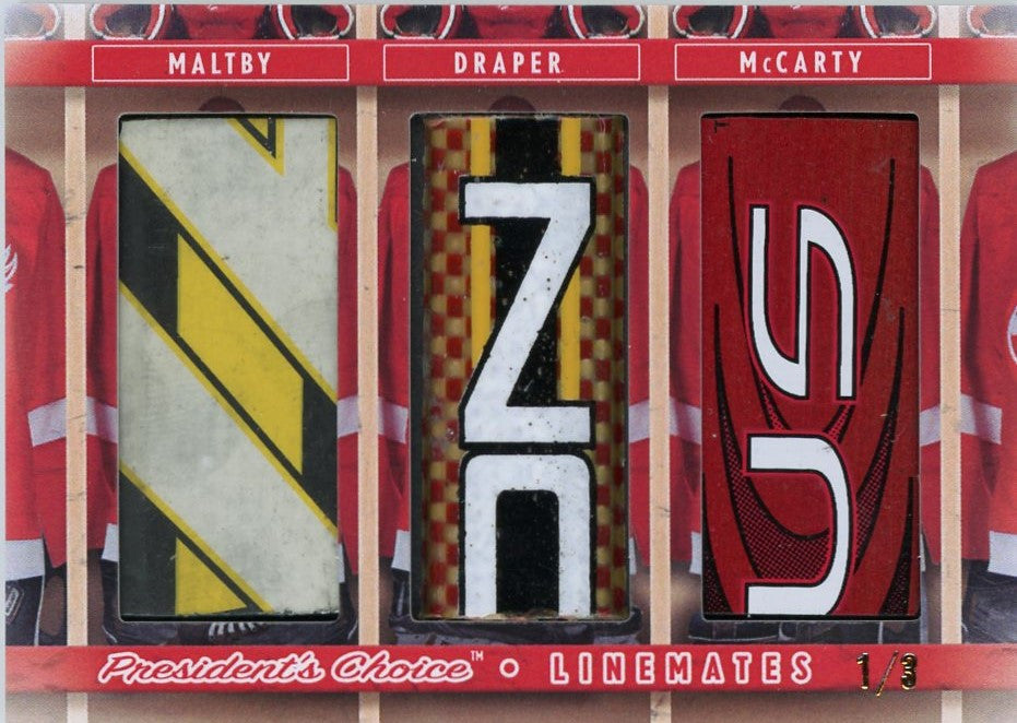 Maltby, Draper, McCarty LineMates /3