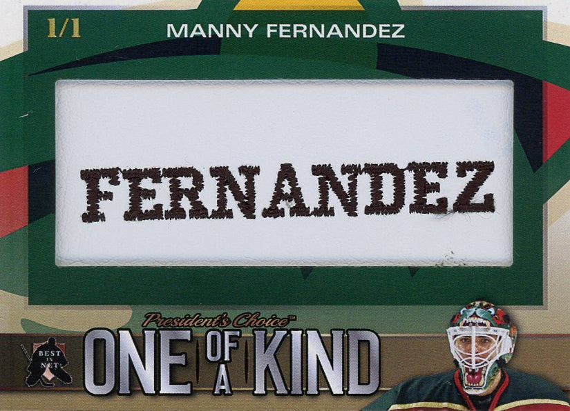 Manny Fernandez One of a Kind 1/1