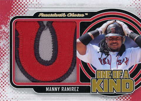 Manny Ramirez One of A Kind 1/1