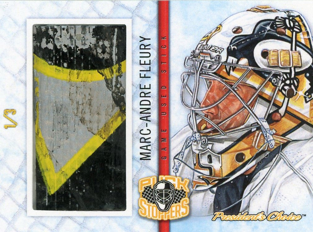 Marc Andre-Fleury PuckStoppers /3